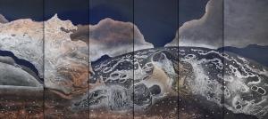 "Expozitiade pictura ""Reflection"" a romanului Roland Pangrati a fost vernisata la Tokyo"