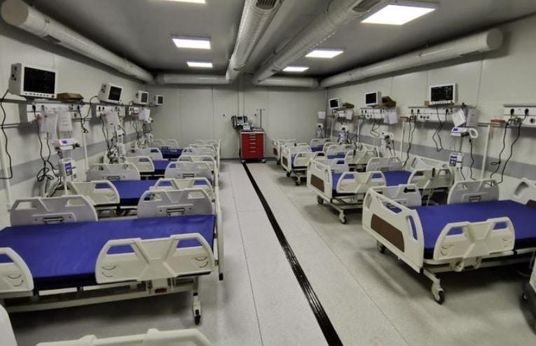 Spitalul mobil de la Letcani, jud. Iasi, ar urma sa primeasca primii pacienti cu coronavirus pe 16 octombrie