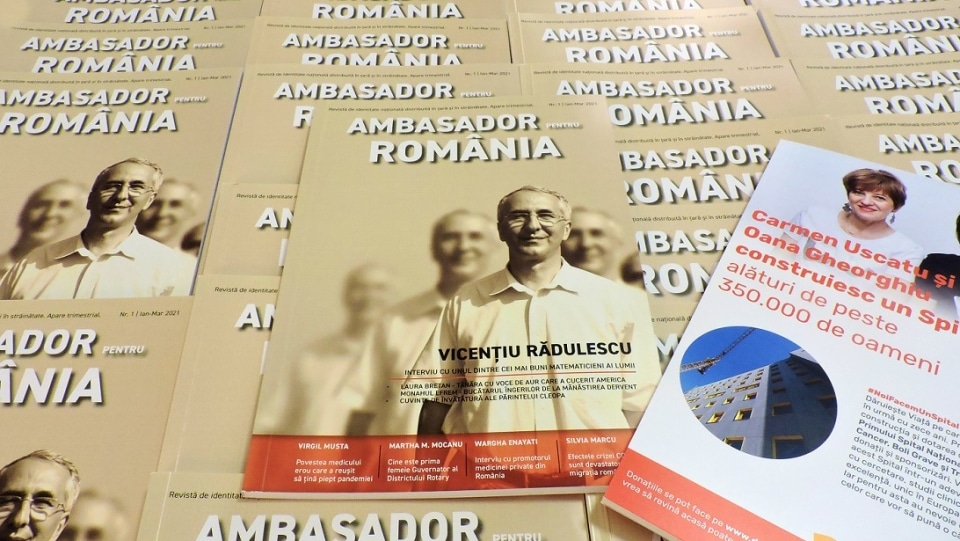 A aparut revista Ambasador pentru Romania! Cum poate fi achizitionata