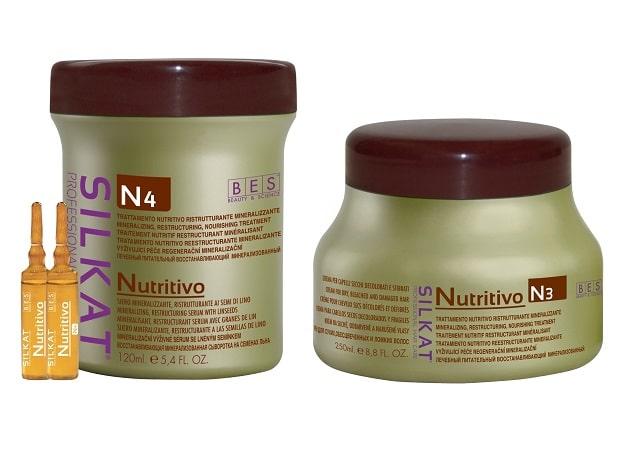 SILKAT NUTRITIVO Tratament  pentru regenerarea parului Ser Mineralizant