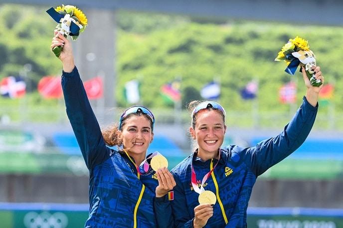 România a câștigat AUR și ARGINT la canotaj la JO de la Tokyo